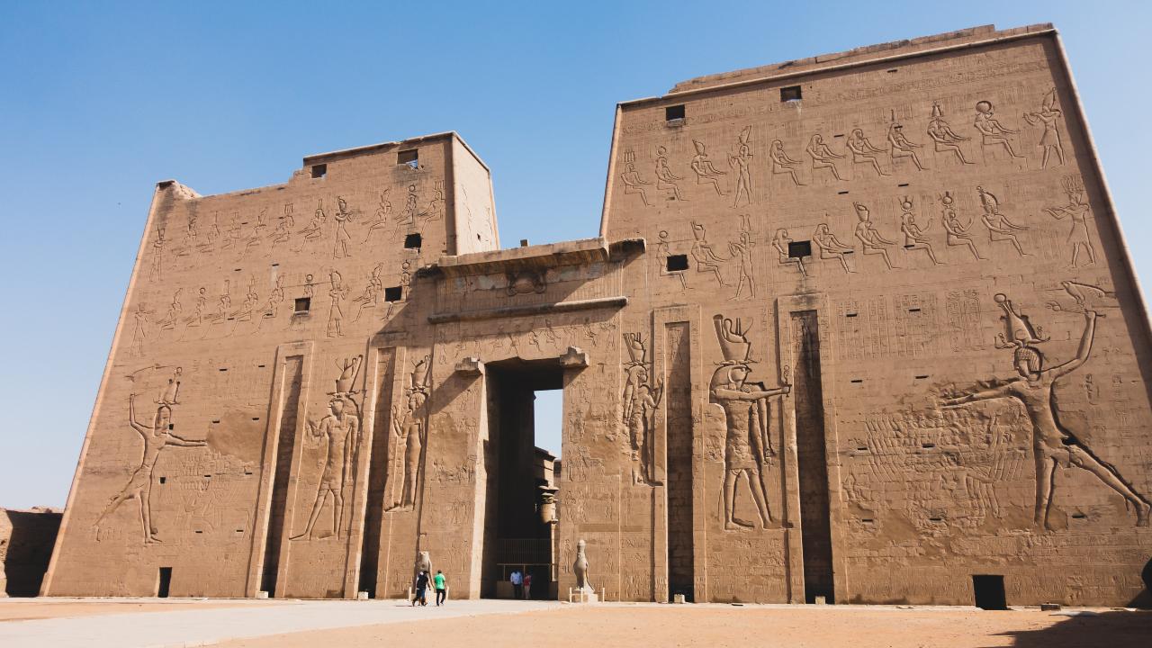 Templul Horus Behdet Egipt