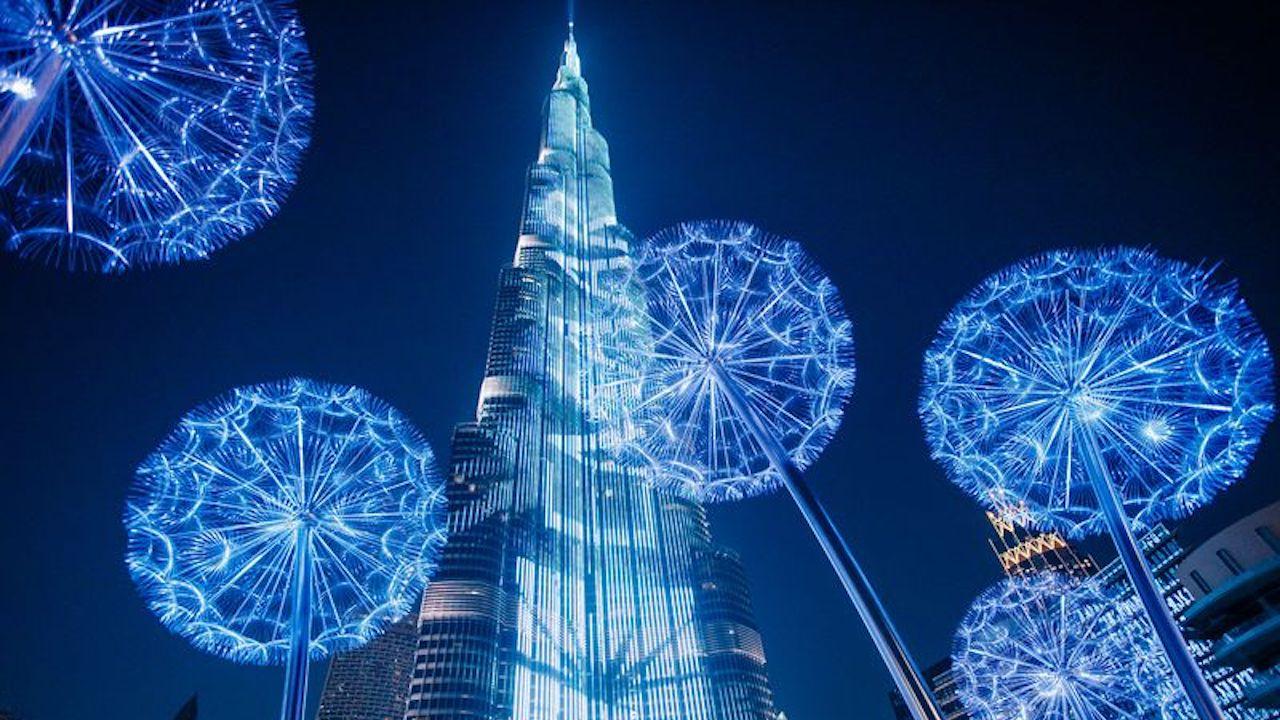 oferte vacante craciun 2021 Burj Califa NIght Dubai