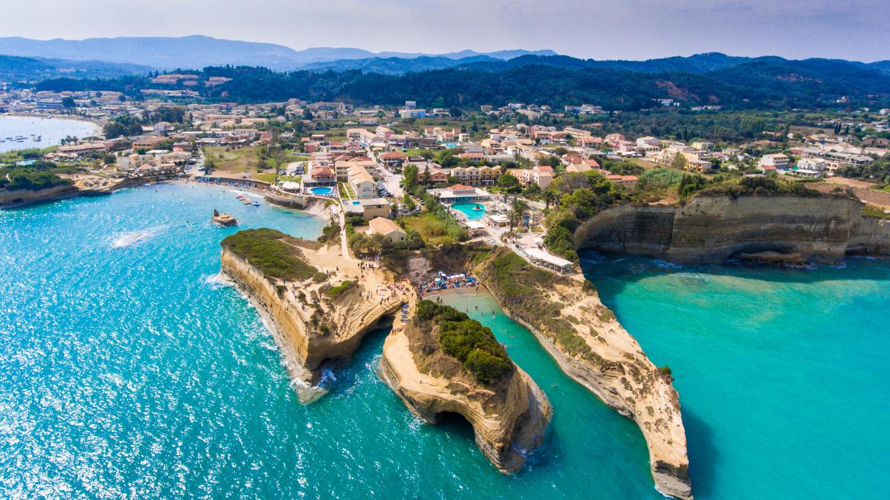 Corfu coastă Grecia