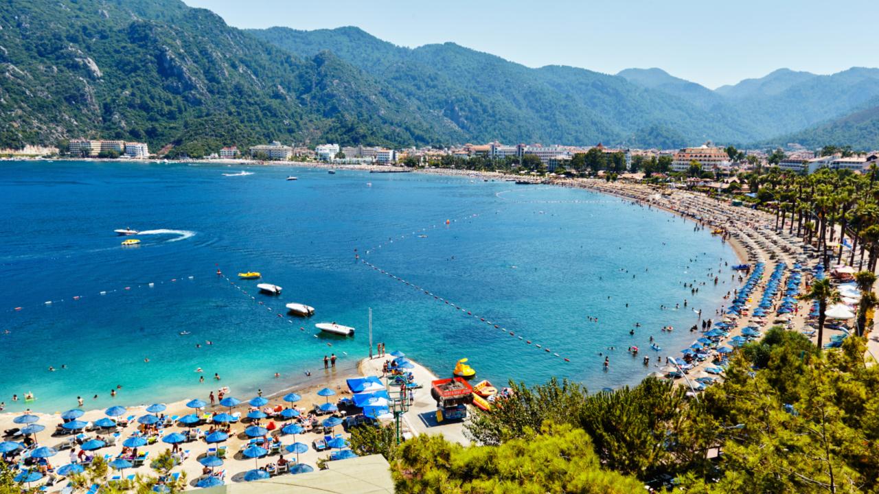 Marmaris beach Turcia
