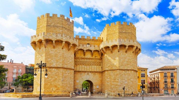 Valencia castle 1