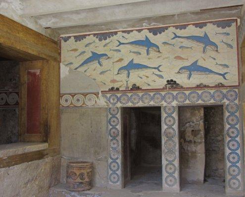 fresco knossos palace 1