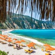 kefalonia beach relax