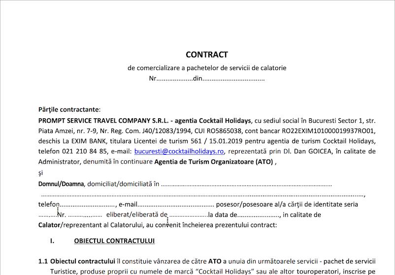 screencapture oferte cocktailholidays ro 00 Informatii Generale Contract Comercializare Pachete pdf 2019 02 13 17 36 27