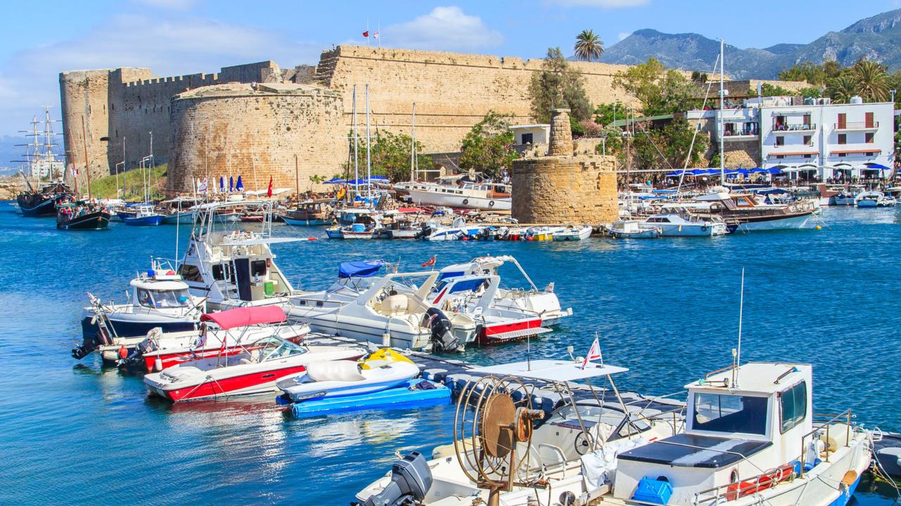 Castelul Kyrenia Larnaca, Cipru
