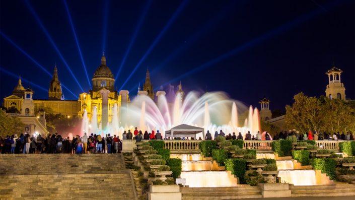 Fantanile Magice Barcelona Revelion 2020