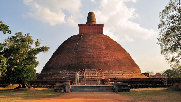 Jetavaranama dagoba stupa, Anuradhapura, Sri Lanka