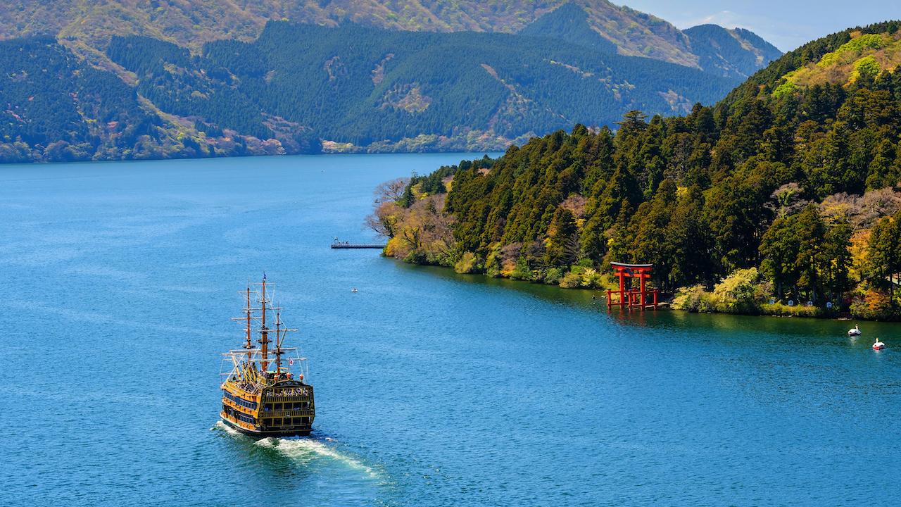 Lacul Ashinoko, Hakone