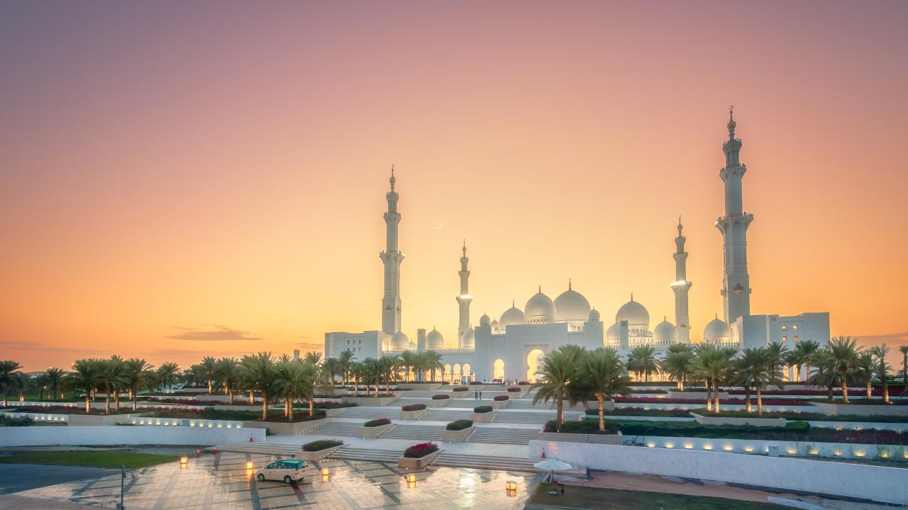 Moscheea Sheikh Zayed Abu Dhabi, Emiratele Arabe Unite