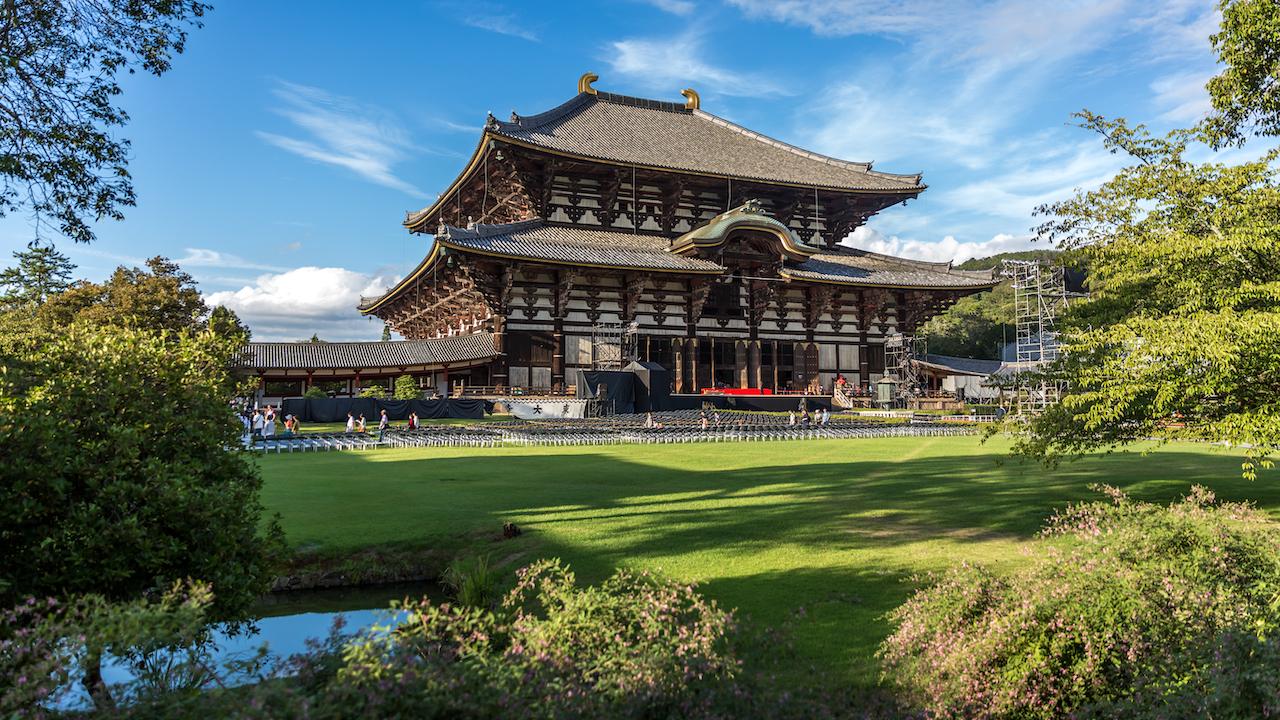 Nara Temple, Japonia