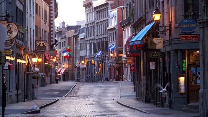 Old City, Montreal, Canada, tur America și Canada