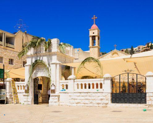 Ortodox Duminica Floriilor din Nazaret, Israel Crăciun 2020