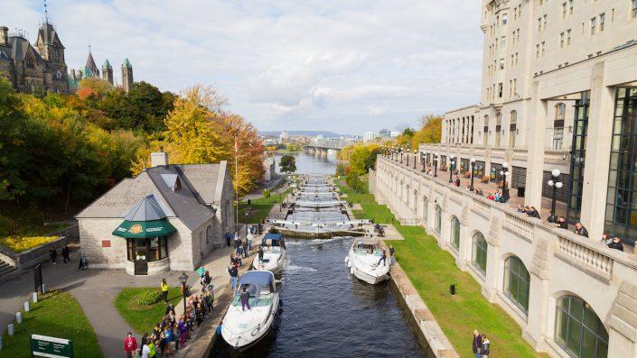 Ottawa Locks, Ottawa, Canada, tur America și Canada