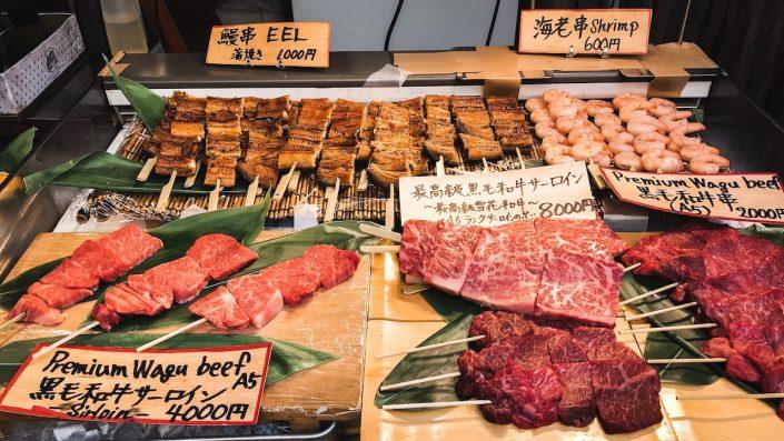 Piata de Peste, Tsukiji, Japonia