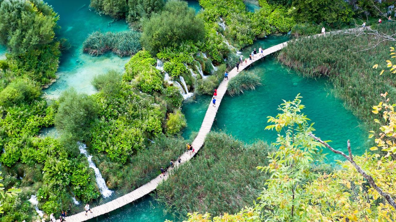 Plitvice Parks, Croatia, Europa
