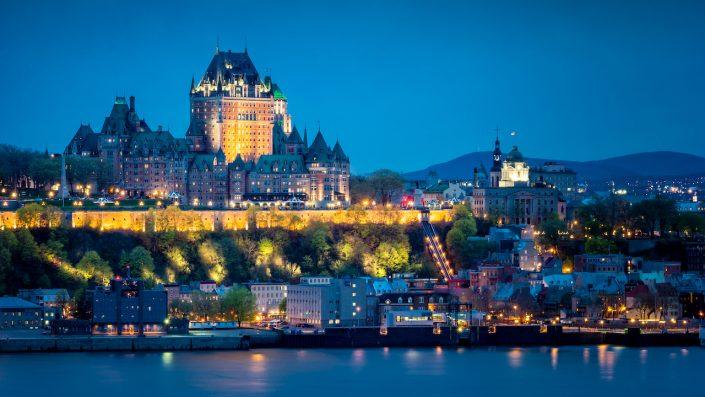 Quebec City Canada, tur America și Canada