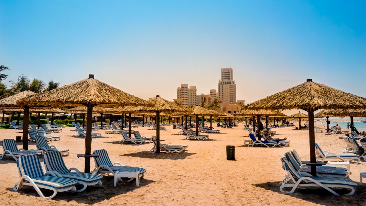 Ras Al Khaimah plaja