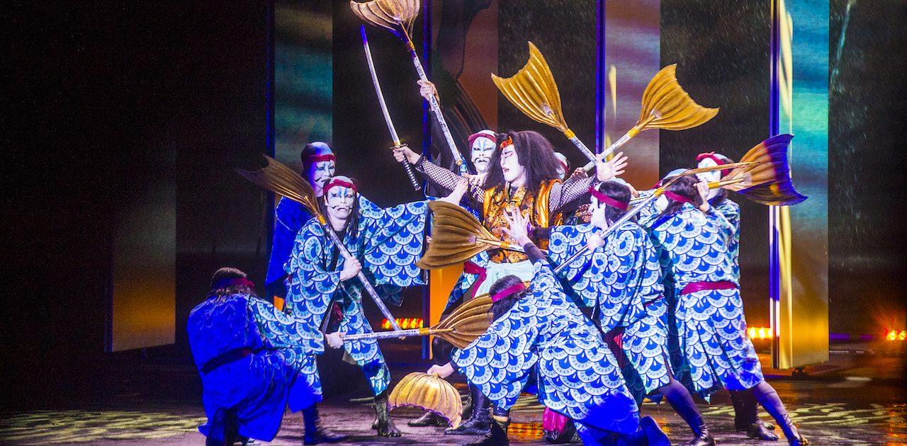 Spectacol Kabuki, Kyoto, Japonia