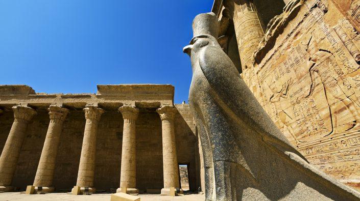 Temple of Edfu Edfu Egipt, croazieră pe nil toamna