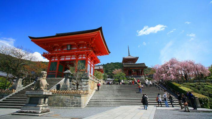 Templul Kyomizu Dera, Japonia
