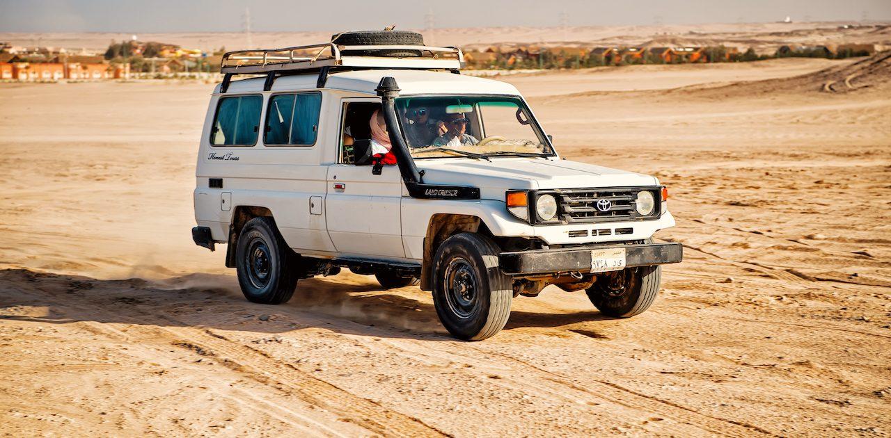 Toyota alb, desert, Hurghada, Egipt, cairo minisejur hurghada