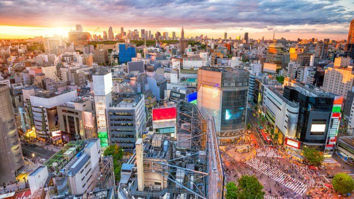 Shibuya, Tokyo, Japonia