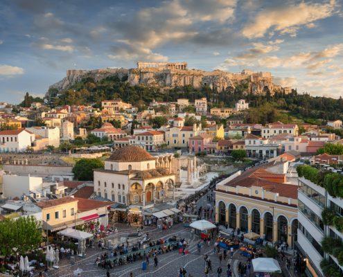 Atena revelion, Sărbători de iarnă, Piața de Crăciun