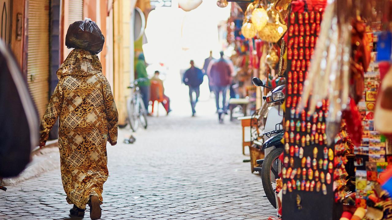 Casablanca Piata Traditionala