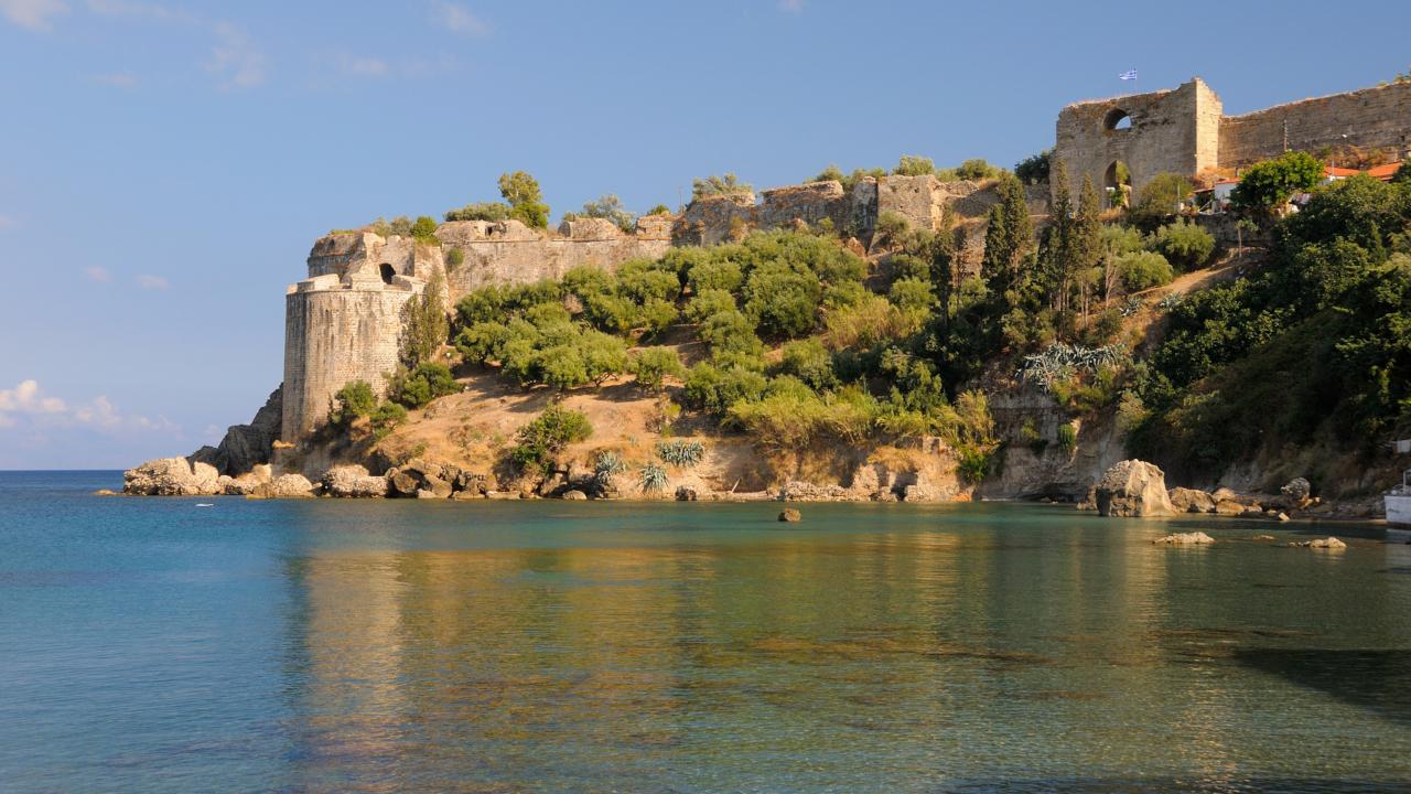 Castelul Koroni Messinia Peloponez