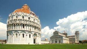 Clădiri de arhitectură Pisa Toscana Italia