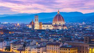 Firenze Sunset Toscana Italia
