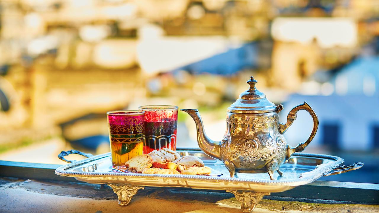 Oală tradițională de ceai Maroc