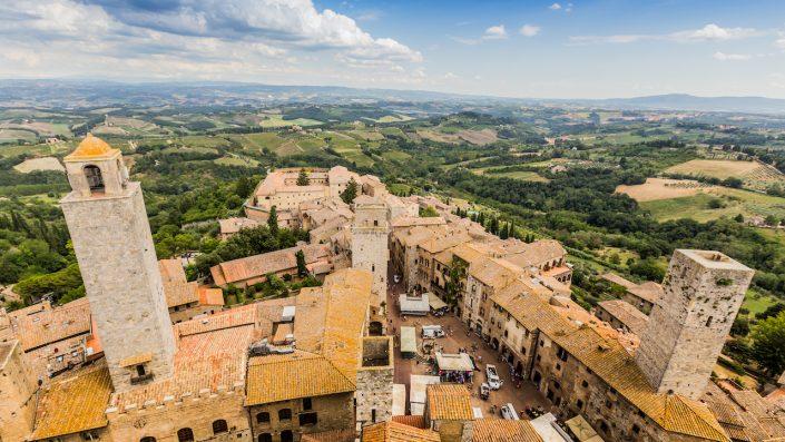 San Giminiano Toscana Chianti Italia