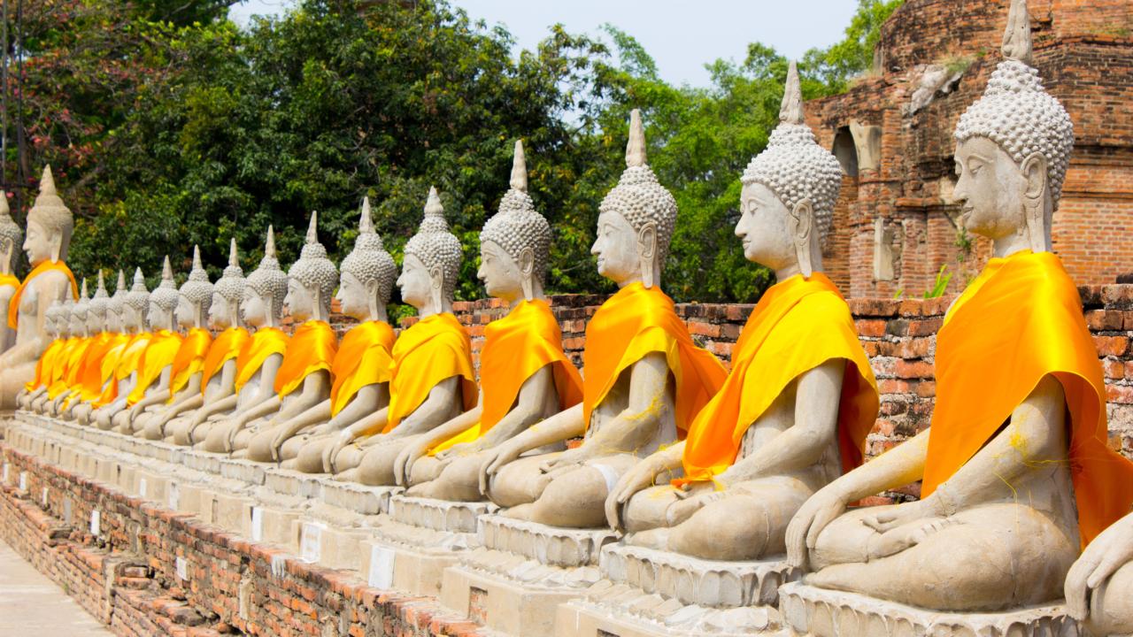 Wat Yai Chai Mongkhon Thailanda