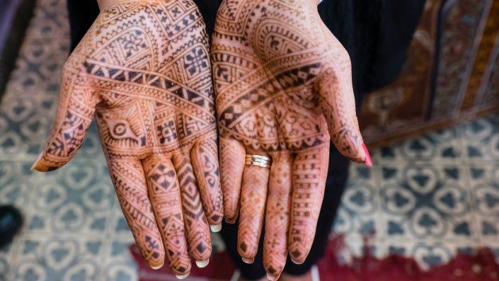 tradiționale henna morocco maroc