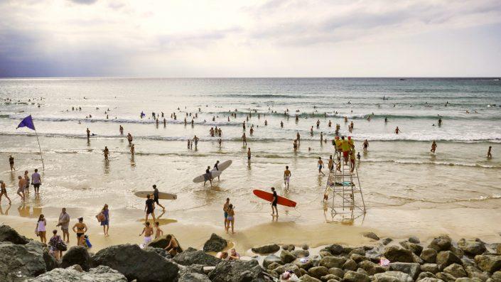 Plaja in Biarritz, Cantabria