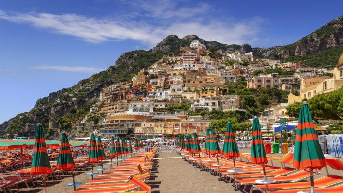 Coasta Amalfitana plajă