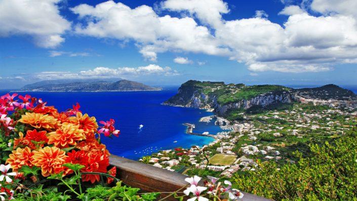 Napoli mare albastră
