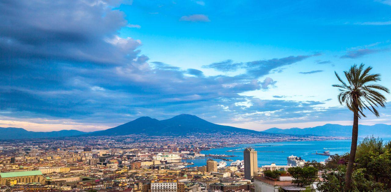 Napoli peisaj vulcan