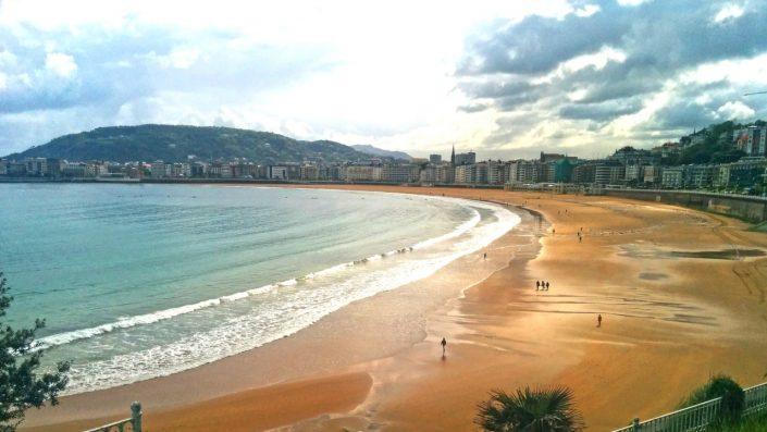 Plaja El Sardinero, Santander, Cantabria