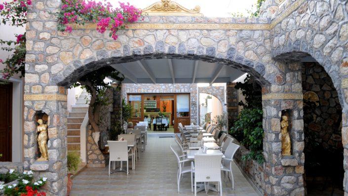 Polydefkis Apartments restaurant aer liber