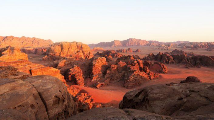 Wadi Rum Iordania Paște 2020