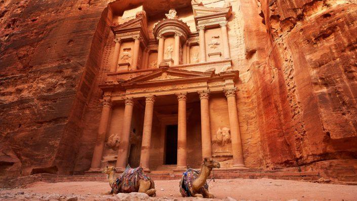 Petra, Iordania, Asia