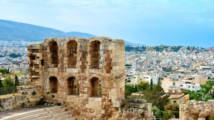 Acropolis ruine