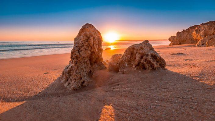 Algarve plajă revelion Lisabona