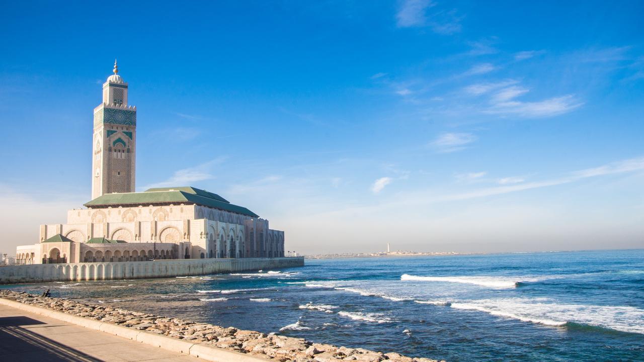 Casablanca moschee