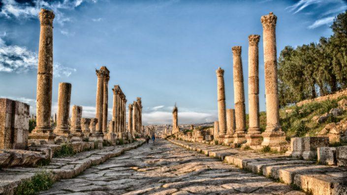 Jerash Iordania Paște 2020