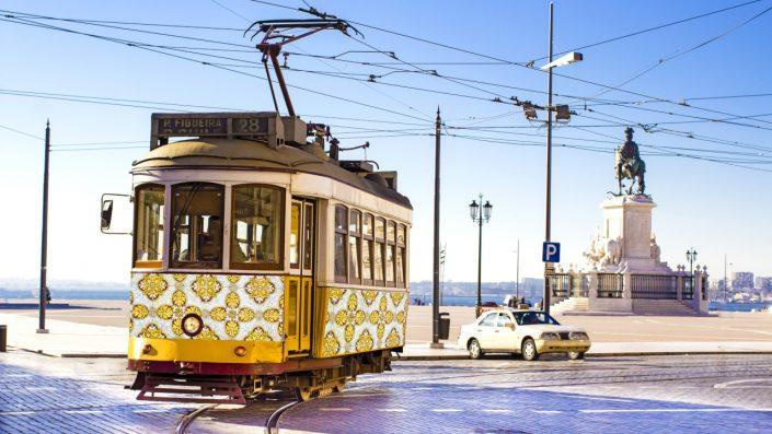Tramvai Lisabona vara