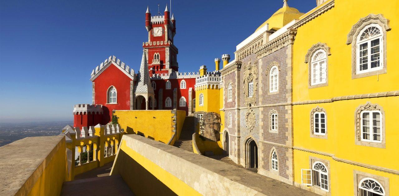 Oraș colorat, Lisabona vara