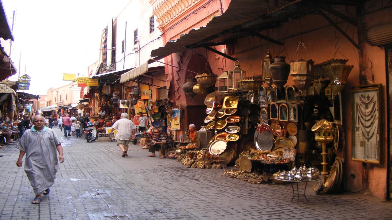 Marrakesh piață